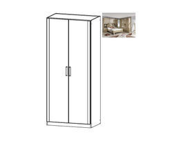 Rivera Hinged 2 Door Wardrobe
