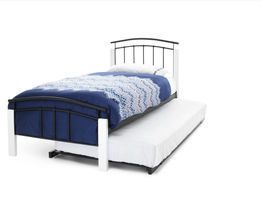 Tetras White Guest Bed