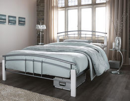 Tetras White Bed Frame