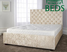 Claudia Fabric Bed Frame