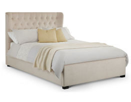 Geneva Winged Headboard Bed
