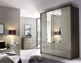 Erimo 5 Door with 1 Mirror 4 Drawer Robe