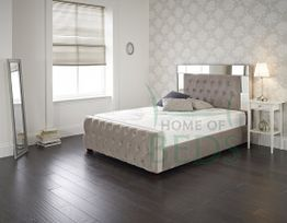 Reflection Fabric Bed Frame